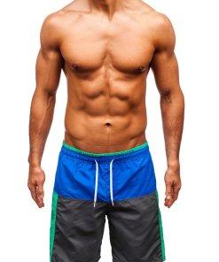 Pantaloni scurți de baie multicolor bărbați Bolf 339A