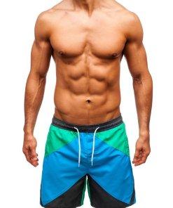 Pantaloni scurți de baie multicolor bărbați Bolf 343B