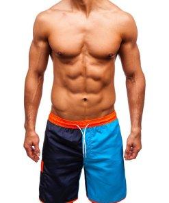 Pantaloni scurți de baie bărbați multicolor Bolf 353D