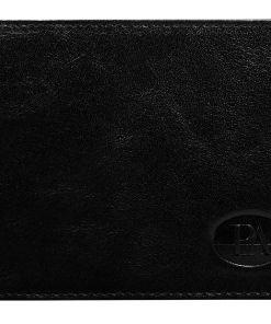 Portofel de piele bărbați negru Bolf 102