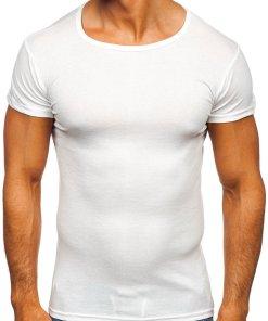 Tricou bărbați alb Bolf NB003