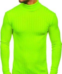 Maletă bărbați verde-neon Bolf 2002