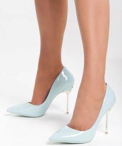 Pantofi stiletto Symbol Bleu