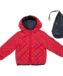 Jacheta reversibila copii Chicco, Thermore, bleumarin si rosu
