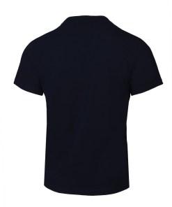Navy Angle - Tricou Negru Din Bumbac Premium