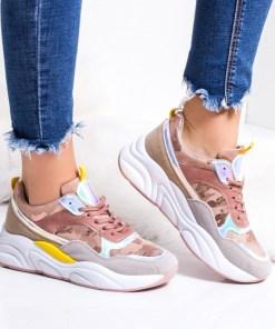 Pantofi dama sport roz Kalemi -rl