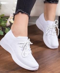 Pantofi sport Cosemi albi -rl