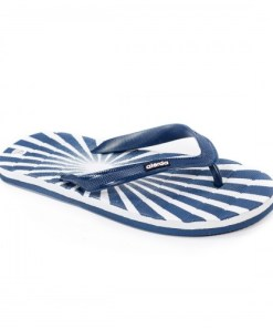 Papuci Javier albi de plaja