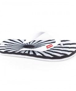 Papuci Lapresse negri de plaja