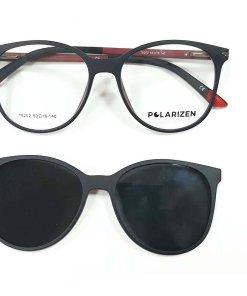 Rame ochelari de vedere dama Polarizen CLIP-ON T6202 C4