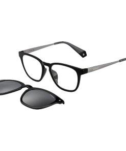 Rame ochelari de vedere unisex POLAROID CLIP-ON PLD 6080/G/CS 08A/M9
