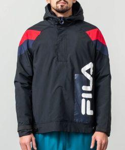Fila Tru Faux Lambswool Lined Jacket Black
