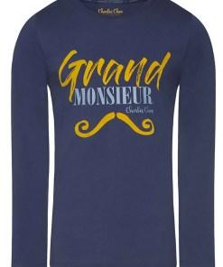 Bluza de pijama barbateasca Grand Monsieur