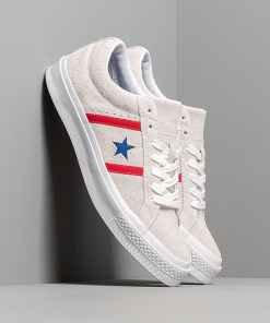 Converse One Star Academy White/ Enamel Red/ Blue