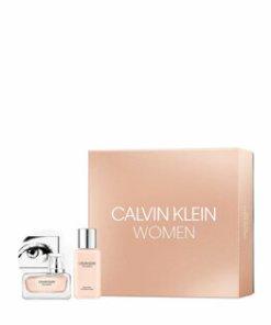 Set cadou Calvin Klein Women (Apa de parfum 30 ml + Lotiune de corp 100 ml), pentru femei