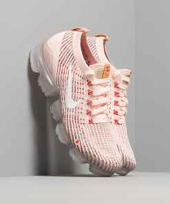 Nike W Air Vapormax Flyknit 3 Sunset Tint/ White-Blue Force-Gym Red