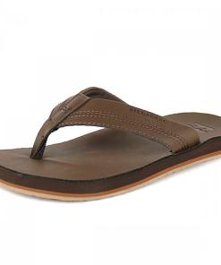 Sandale All Day Leather Sandals rich chocolate