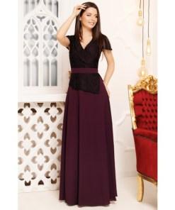 Rochie lunga Jasmine Purple