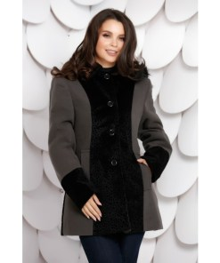 Palton Ludmila Grey