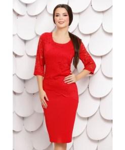 Rochie Liliane Red