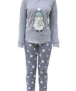 Pijama dama Little Snowman