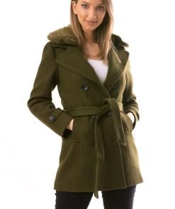 Palton Dama NiceToHave12 Kaki