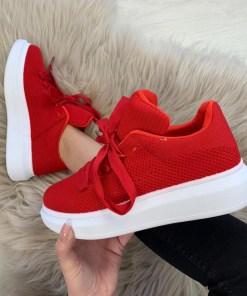 Adidasi Cady Rosii #B3795