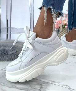 Adidasi Vivre Albi #B5006