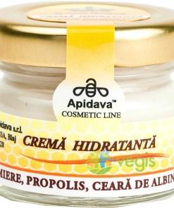 Crema Hidratanta Miere, Propolis Si Ceara De Albine 30ml