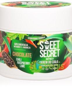 Sweet Secret Crema Hibrida Nutritiva de Corp cu Ciocolata, Chilli, Zmeura si Lime 200ml