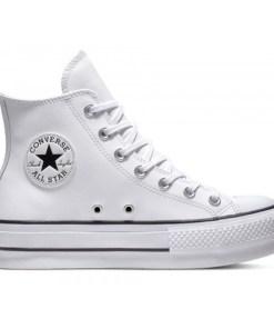 Pantofi sport femei cu platforma Converse Chuck Taylor All Star Lift Leather High 561676C