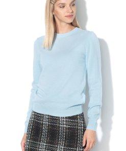Pulover tricotat fin - de lana Merinos