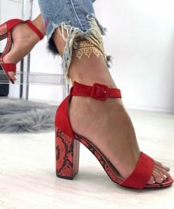 Sandale Danna Rosii #B4887