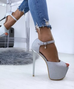 Sandale Gloria Argintii #B4714
