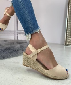 Sandale Jodee Bej #B4258