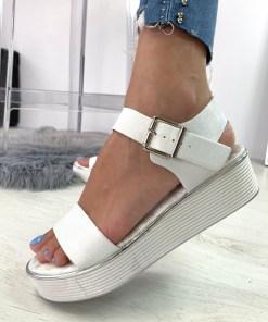 Sandale Numara Albe #B4502