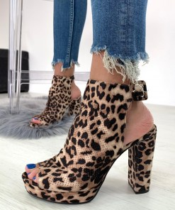 Sandale Rabelle Leopard #B4245