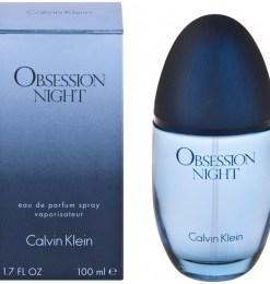 Apa de Parfum Calvin Klein Obsession Night, femei, 100ml