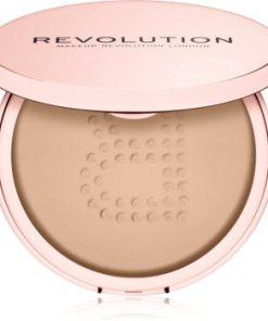 Makeup Revolution Conceal & Fix pudra pulbere transparenta rezistent la apa