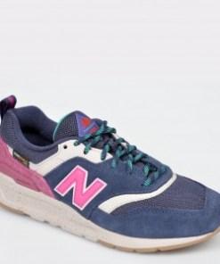 Pantofi sport NEW BALANCE albastri, CW997, din material textil si piele naturala