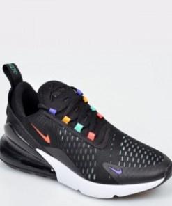 Pantofi sport NIKE, W Air Max 270 negri, din material textil