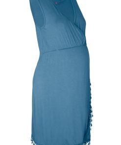 Bonprix Rochie pentru gravide/alaptare - albastru denim
