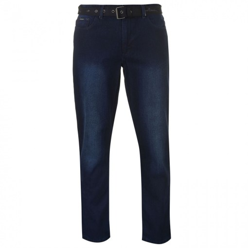 Blugi slim fit Pierre Cardin Web Belt Mens Jeans