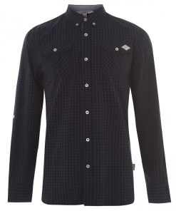 Camasa cu model - Lee Cooper Long Sleeve Shirt Mens 1059973