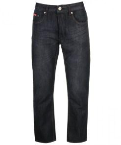 Blugi drepti Lee Cooper Regular Jeans Mens