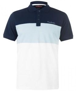 Tricou golf Pierre Cardin Cut And Sew Polo Shirt Mens