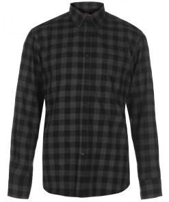 Camasa in carouri Pierre Cardin Long Sleeve Check Shirt Mens