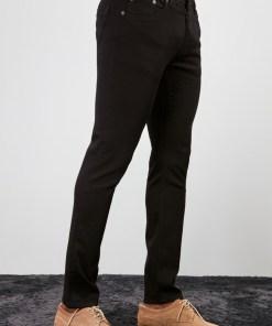 Blugi skinny fit Trendyol Black Male Skinny Jeans