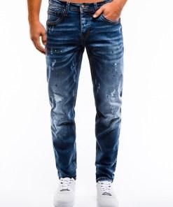 Blugi slim fit Ombre Clothing Men's jeans P859