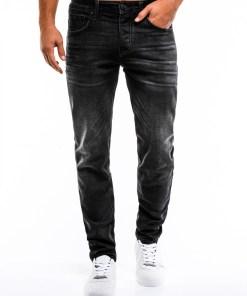 Blugi slim fit Ombre Clothing Men's jeans P857
